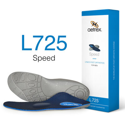 Men's Speed Posted Orthotics W/ Metatarsal Support