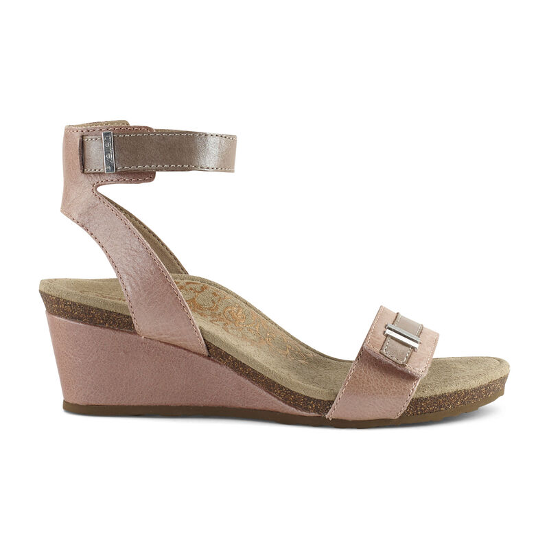 Gia Ankle Strap Wedge