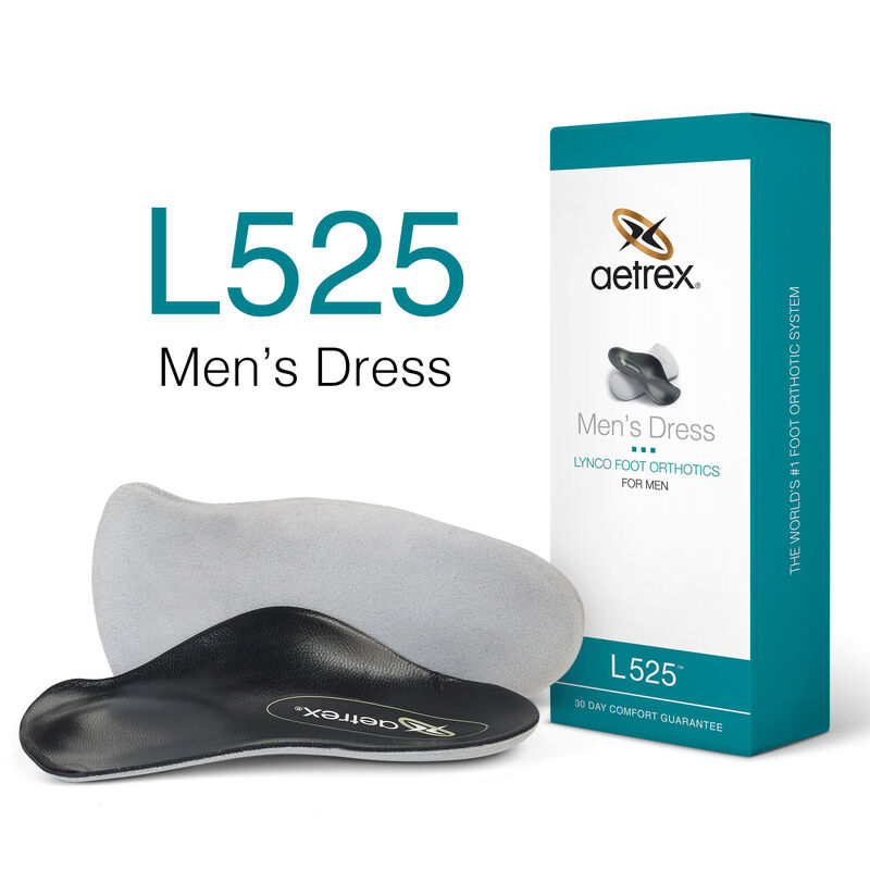 Dress Flat/Low Arch W/ Metatarsal Support For Men