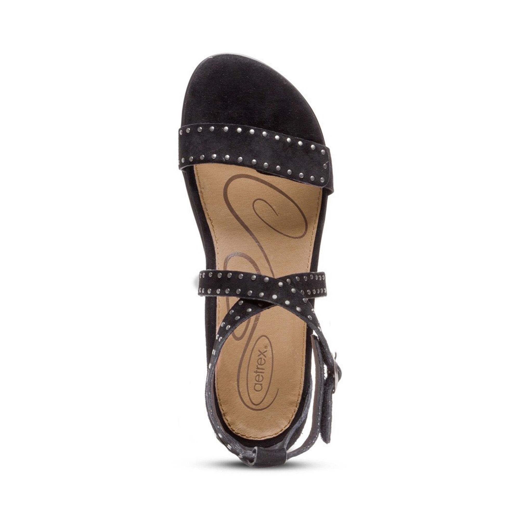 Hailey Adjustable Sandal - Black