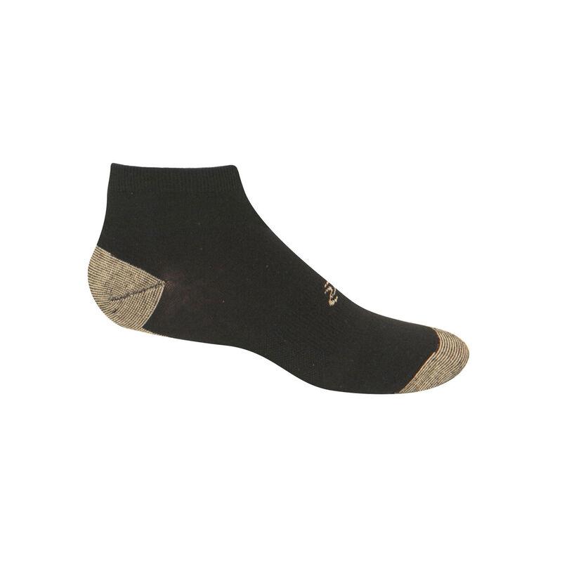 Copper Sole Athletic Low Cut Socks - Men