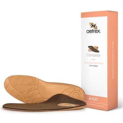 Women's Compete Orthotics - Insoles for Active Lifestyles