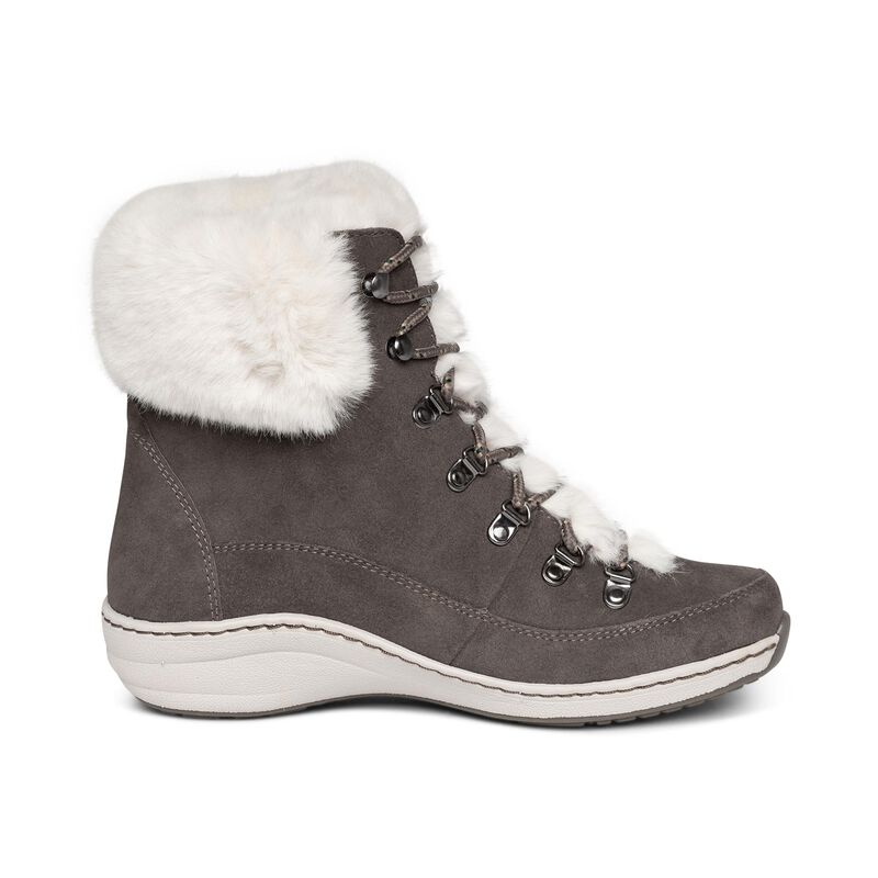 Jodie Fur Arch Support Waterproof Winter Boot