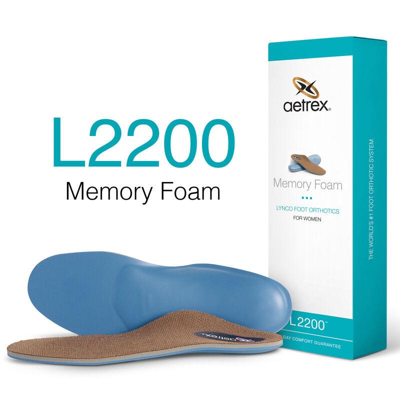 Memory Foam Med/High Arch Orthotics For Women