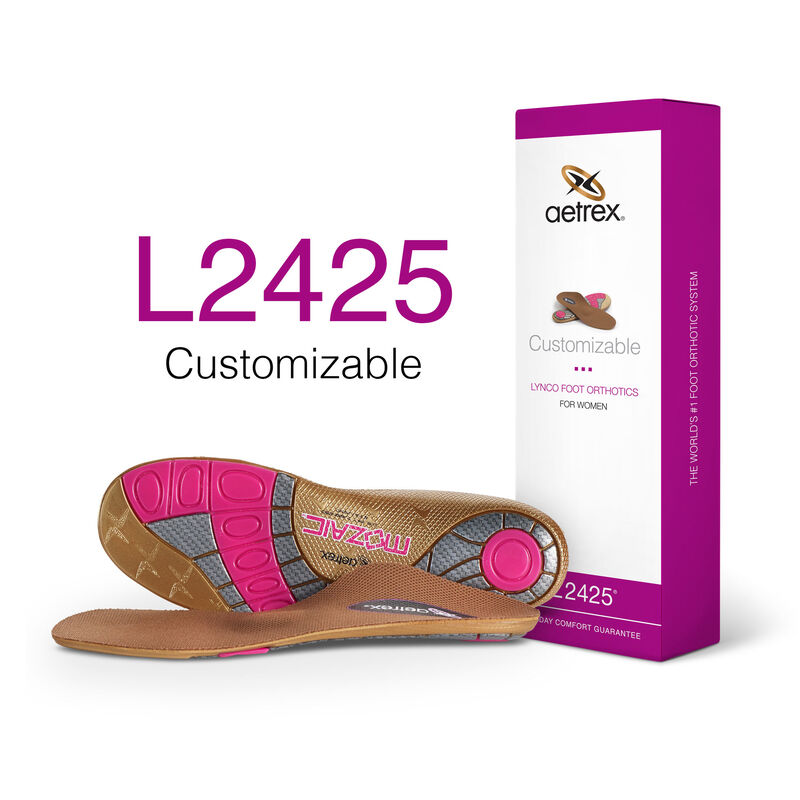 Women's Customizable Flat/Low Arc W/ Metatarsal Support