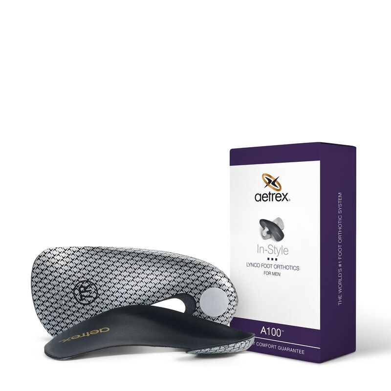 Men's In-Style Orthotics - Insole for Dress Shoes