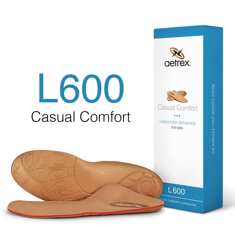 Casual Comfort Med/High Arch Orthotics For Men