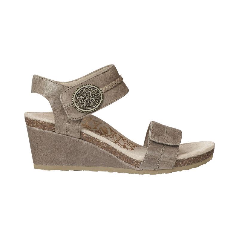 Arielle Adjustable Wedge Sandal