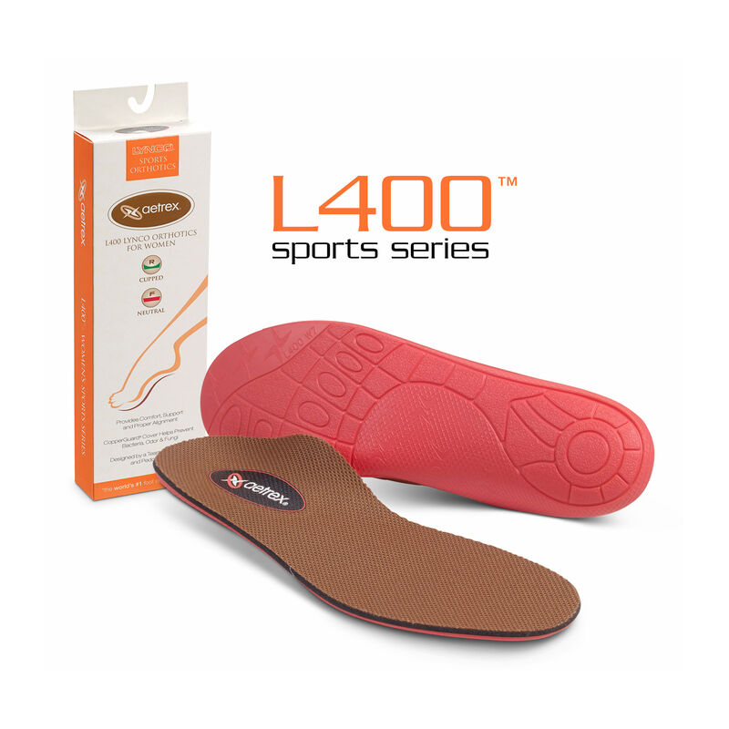 Girl's Sport Flat/Low Arch Orthotic