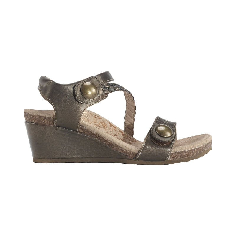 Naya Braided Quarter Strap Wedge