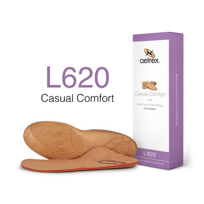Women's Casual Comfort Posted Orthotics