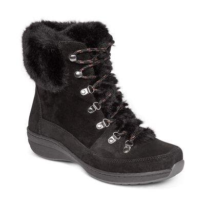 Jodie Fur Arch Support Waterproof Winter Boot