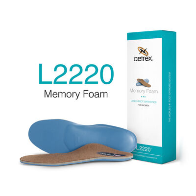 Women's Memory Foam Posted Orthotics