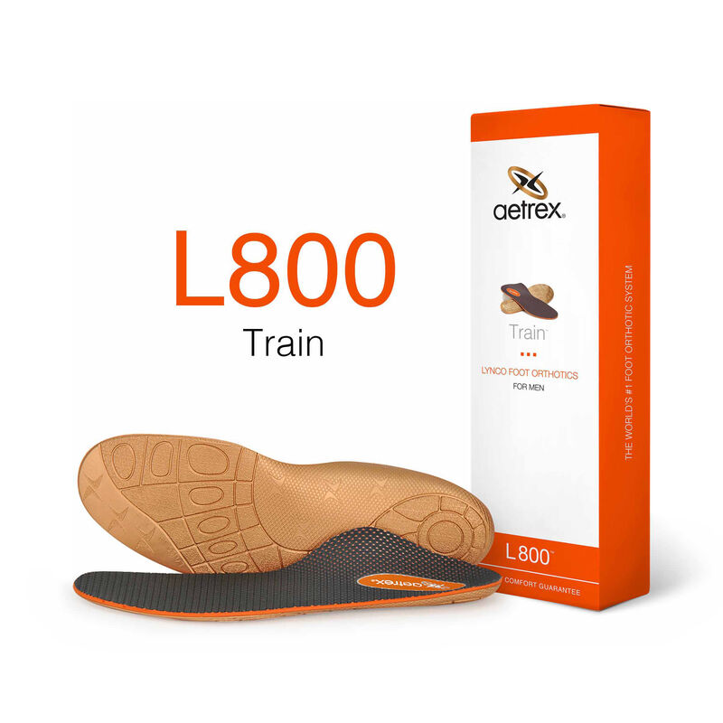 Train Med/High Arch Orthotics For Men