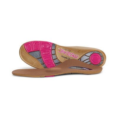 Women's Customizable Posted Orthotics W/ Metatarsal Support