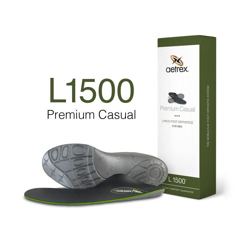 Premium Casual Med/High Arch Orthotics For Men