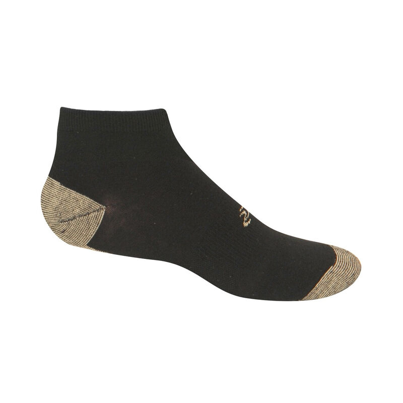 Copper Sole Non-Binding Extra Cushion Ankle Socks - Men