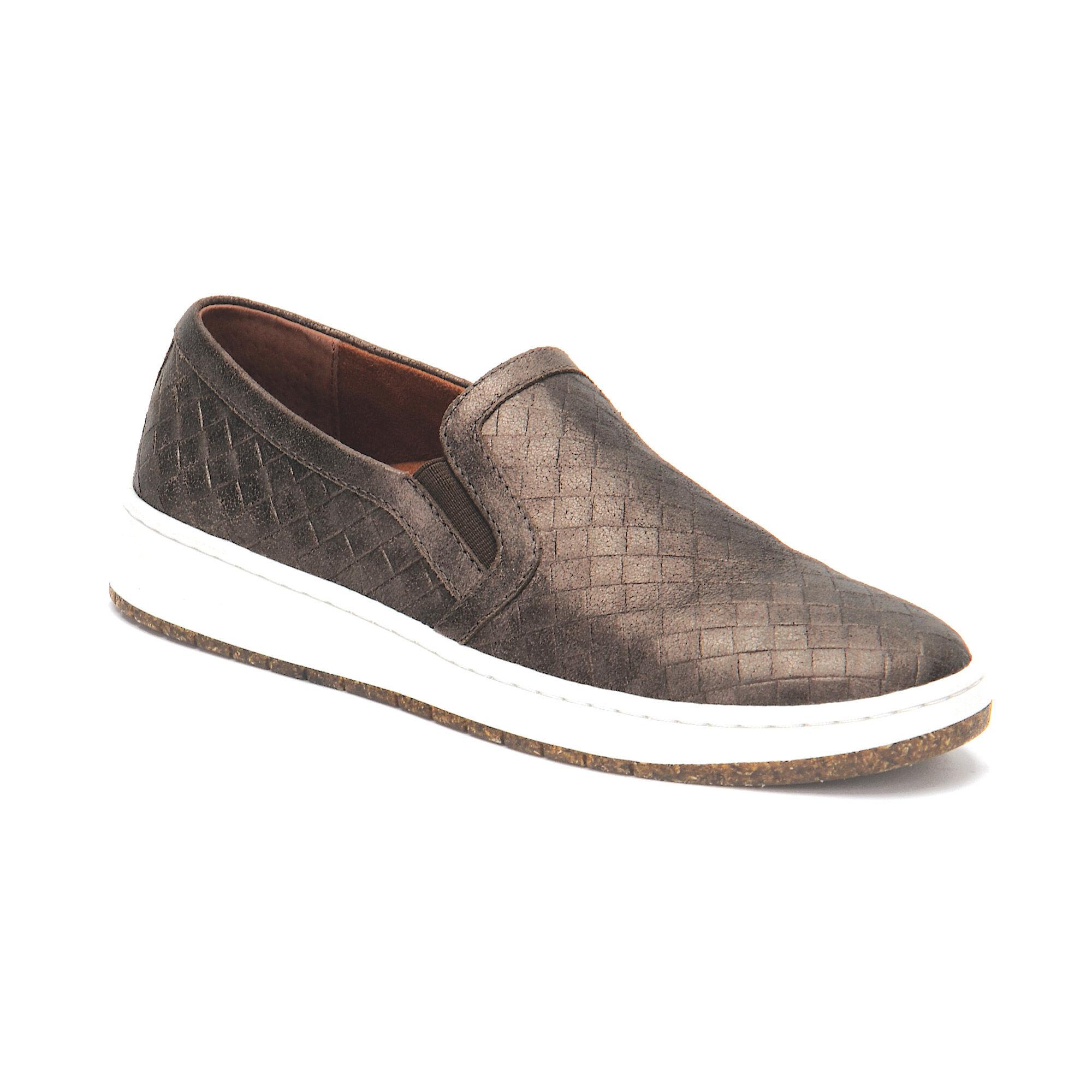 Kenzie Bronze Slip-On Sneaker with Arch