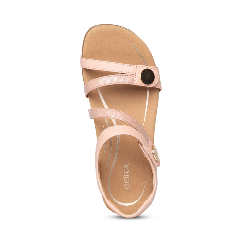 Jess Adjustable Quarter Strap Sandal