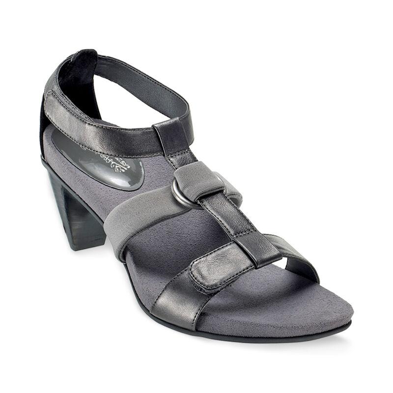Sofia T-Strap Heeled Sandal