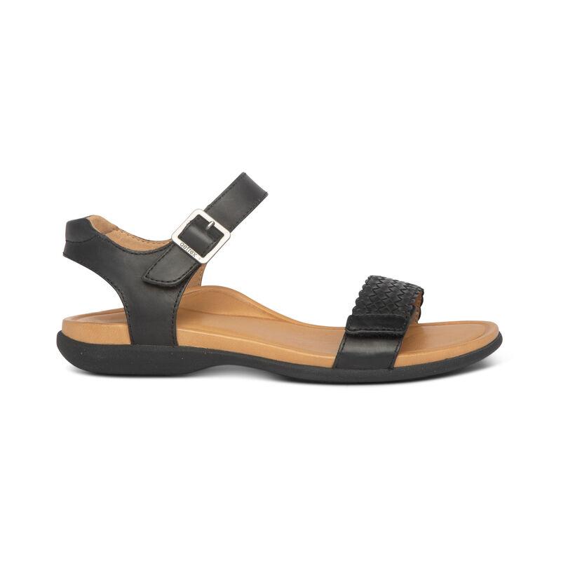 Lucy Woven Quarter Strap Sandal