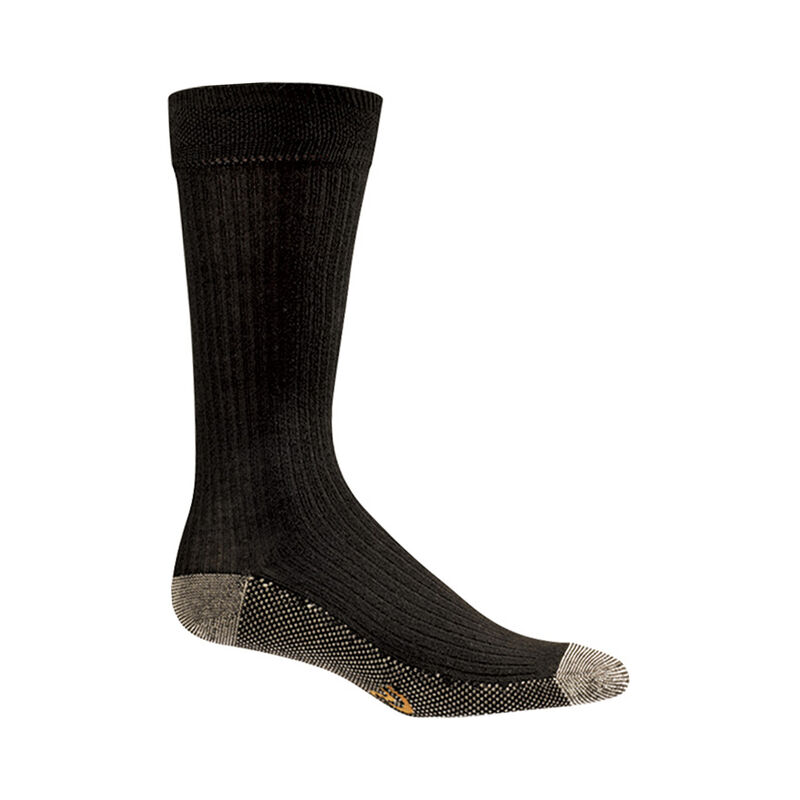Copper Sole Dress/Casual Crew Socks - Men