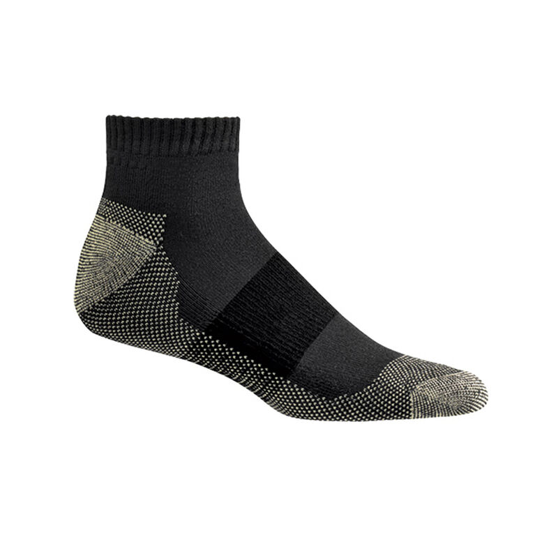 Copper Sole Athletic Ankle Socks - Men