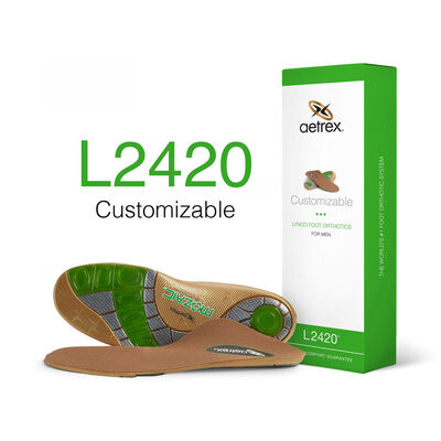 Men's Customizable Flat/Low Arch Orthotic