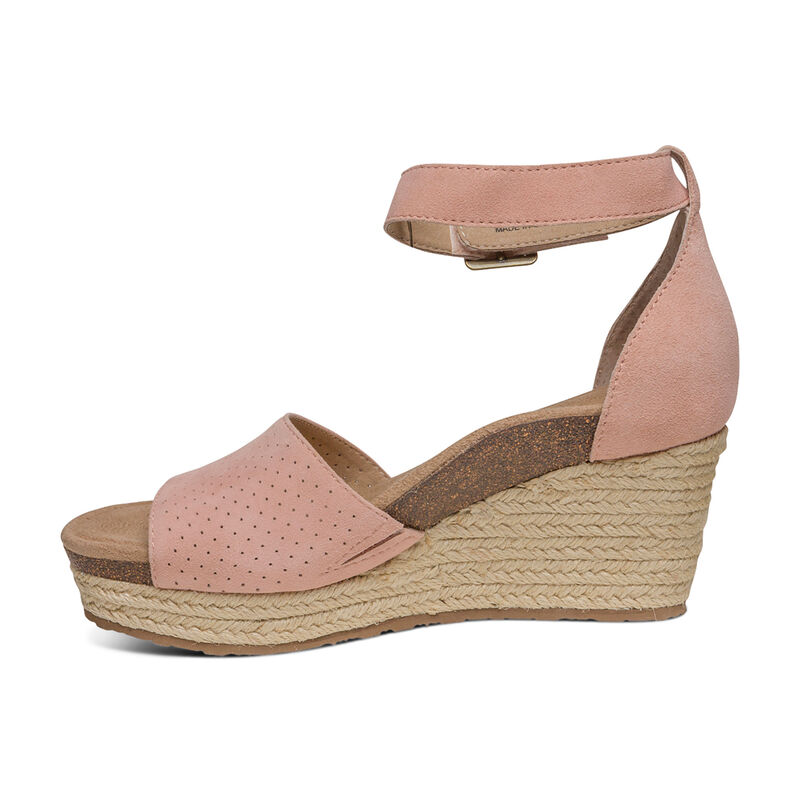 Miley Ankle Strap Espadrille Wedge
