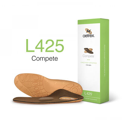 Men's Compete Posted Orthotics W/ Metatarsal Support