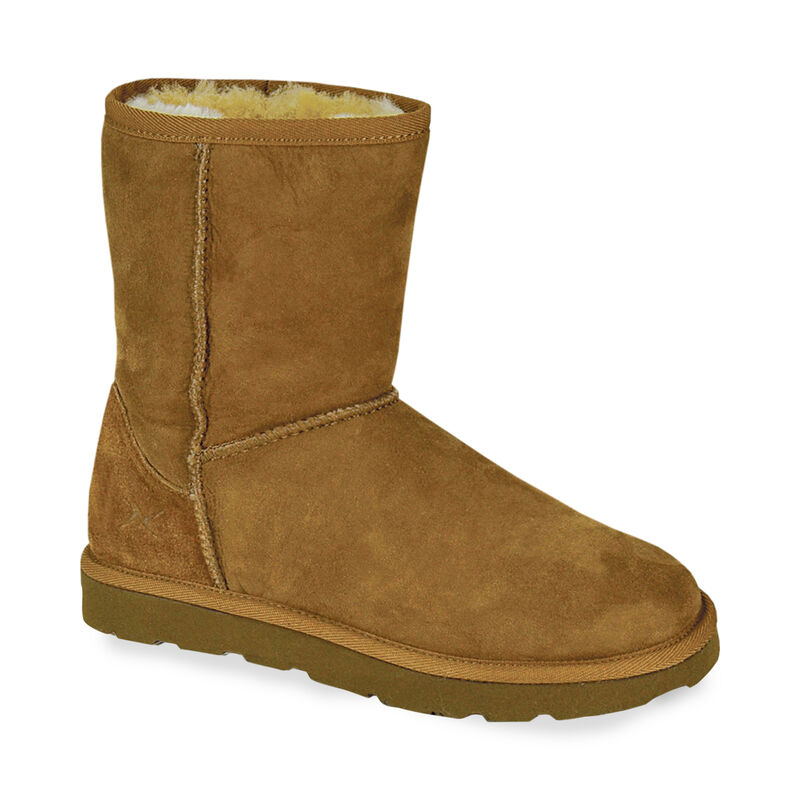 Short Shearling Boots