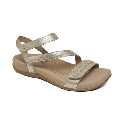 Gabby Adjustable Quarter Strap Sandal