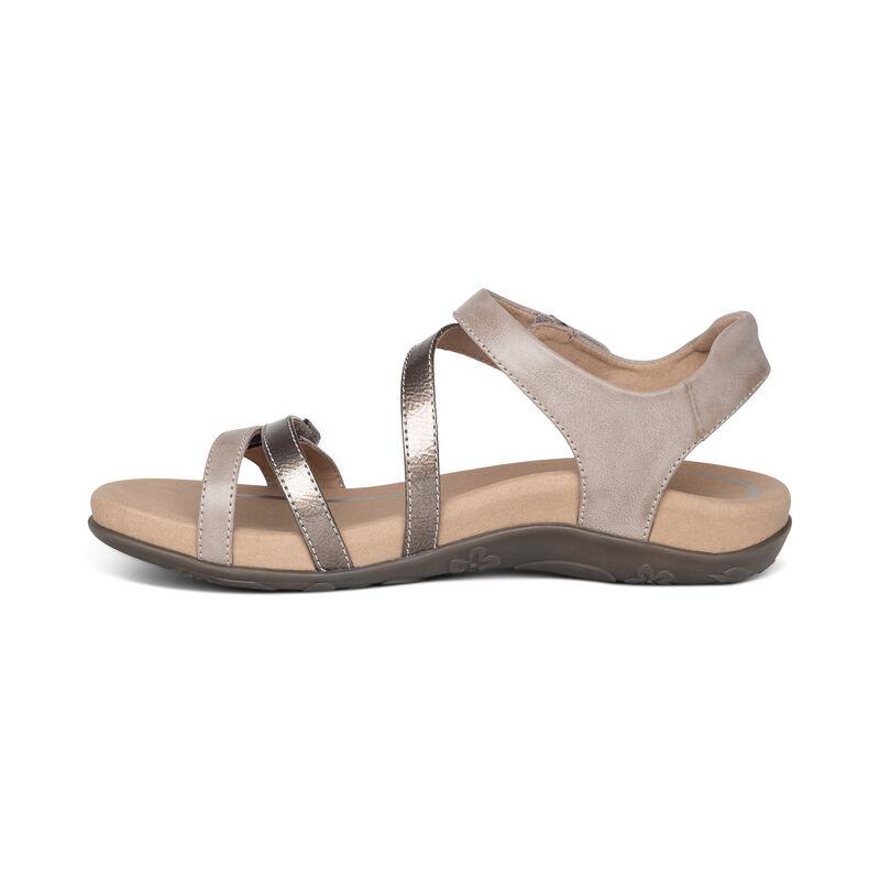 Jess Adjustable Quarter Strap Sandal