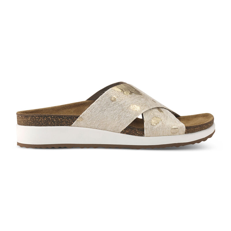 Dawn Cross Strap Slide