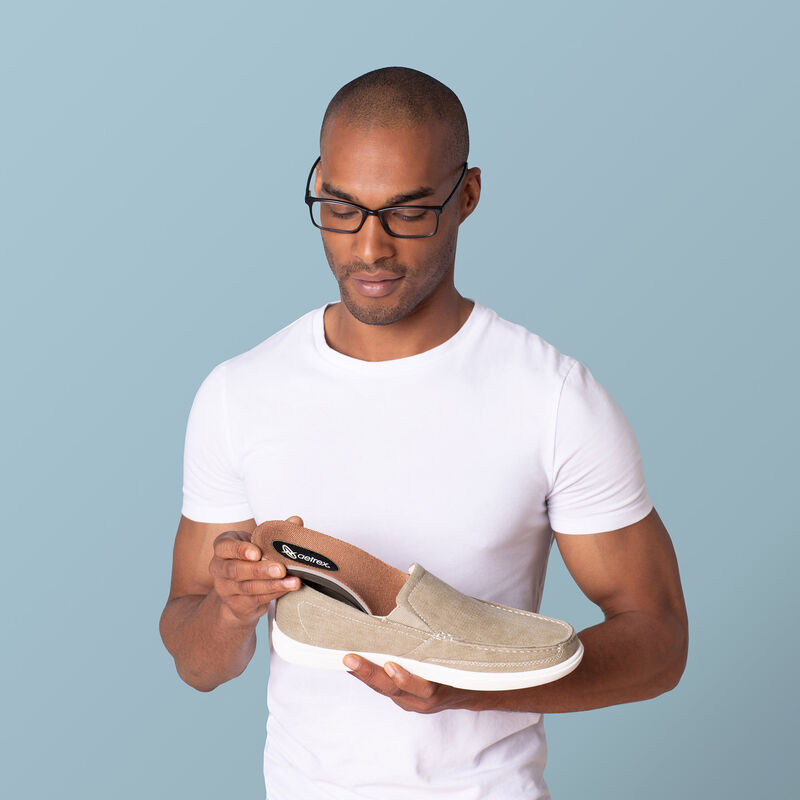 Memory Foam Med/High Arch Orthotics For Men