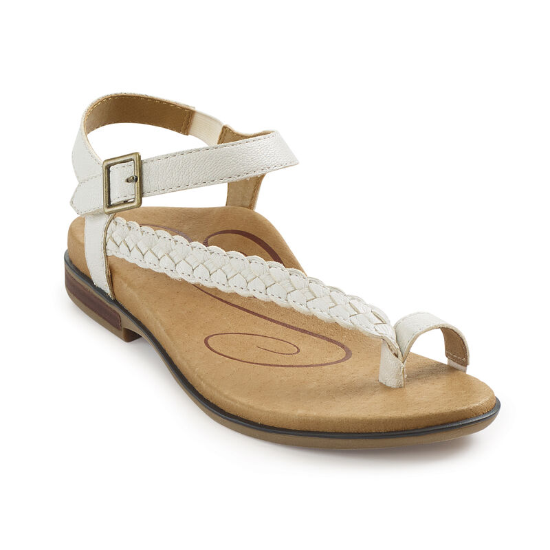 Evie Braided Toe Loop Sandal