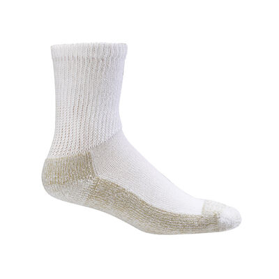 Copper Sole Socks Non-Binding Crew - Unisex