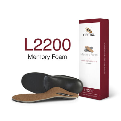 Men's Memory Foam Orthotics - Insole for Extra Cushioning