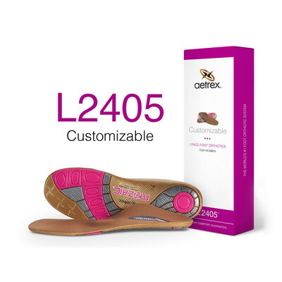 Women's Customizable Orthotics W/ Metatarsal Support