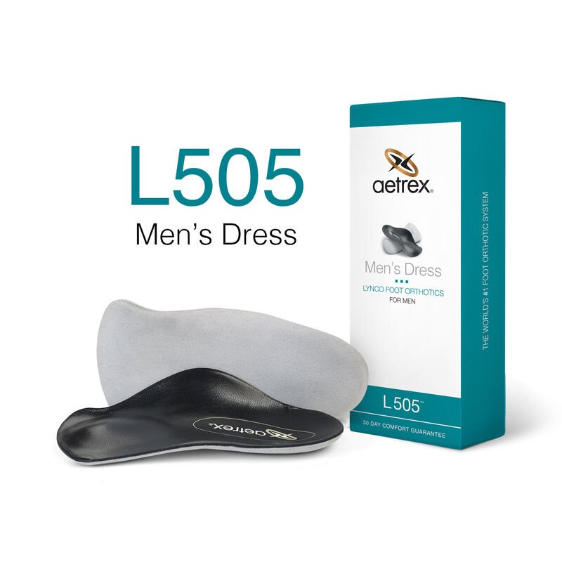 Dress Med/High Arch W/ Metatarsal Support For Men