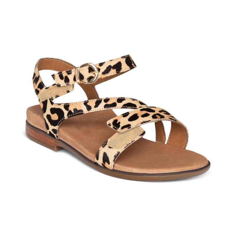Tia Adjustable Quarter Strap Sandal