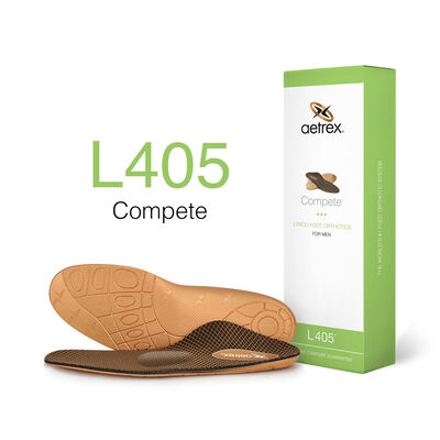 Men's Compete Orthotics W/ Metatarsal Support