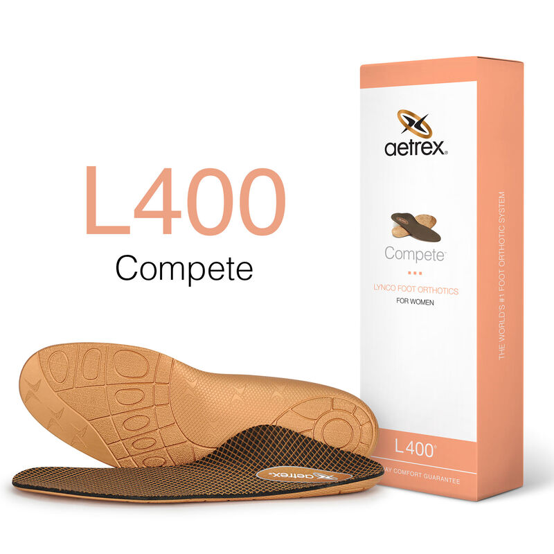 Compete Med/High Arch Orthotics For Women
