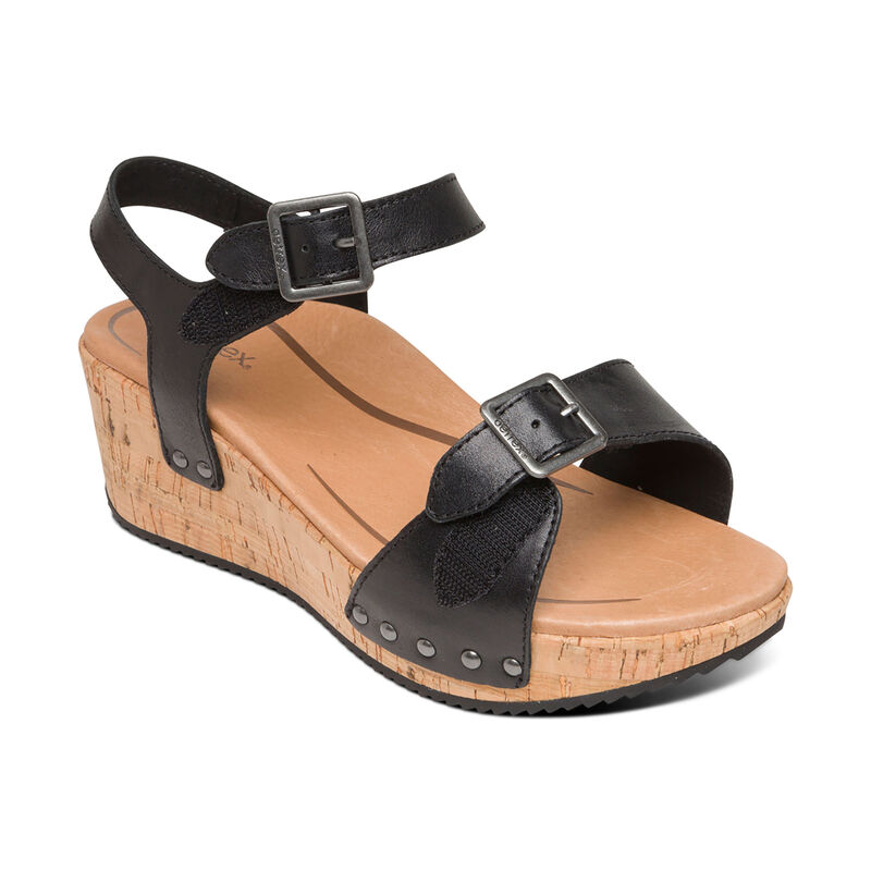 Melody Platofrm Quarter Strap Wedge
