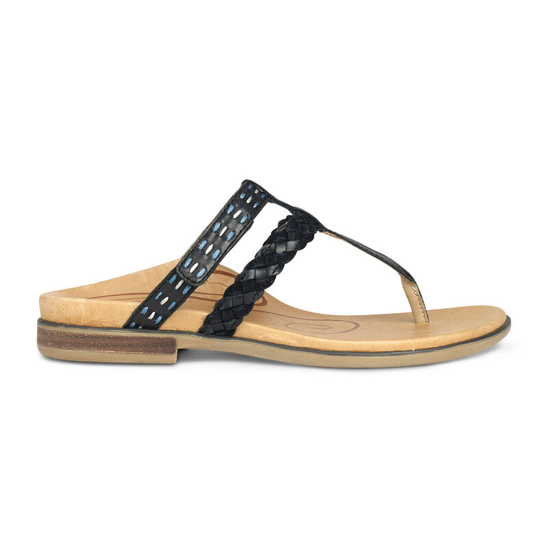 Mona Braided Thong Sandal
