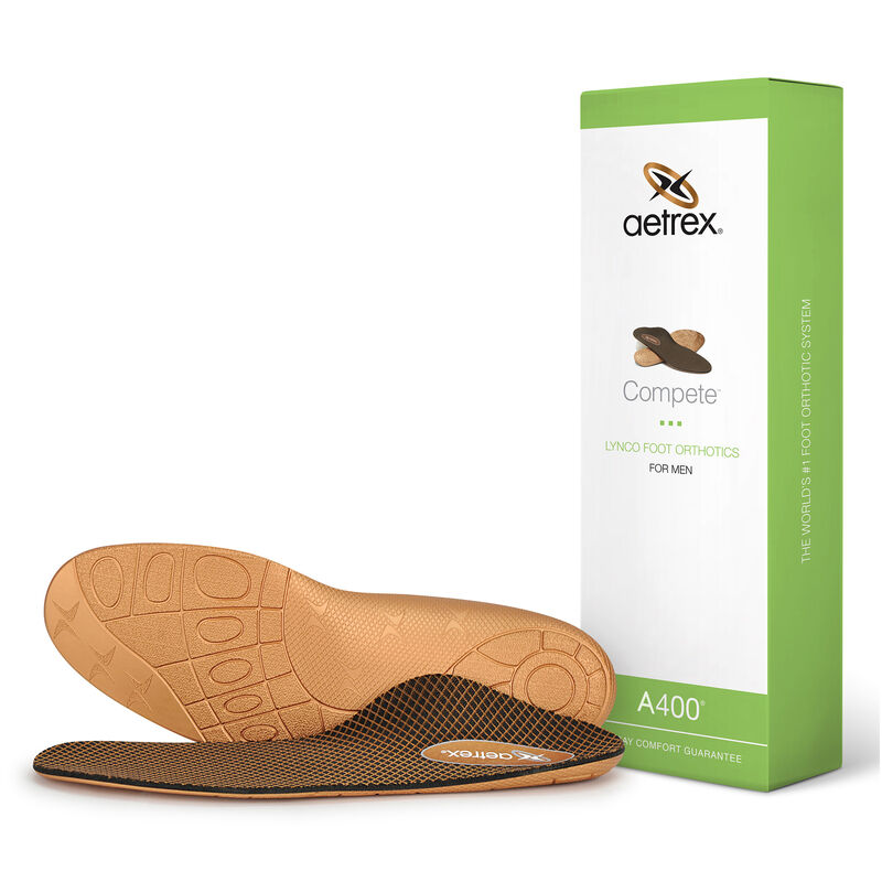 Compete Orthotics For Men - Insoles for Active Lifestyles