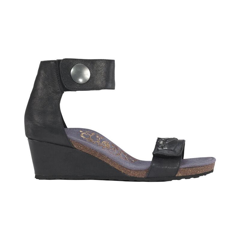 Becca Quarter Strap Wedge Sandal