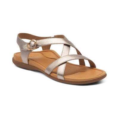Penny Adjustable Quarter Strap Sandal