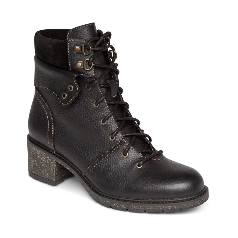 Aubry Arch Support Weatherproof Lace Up Boot