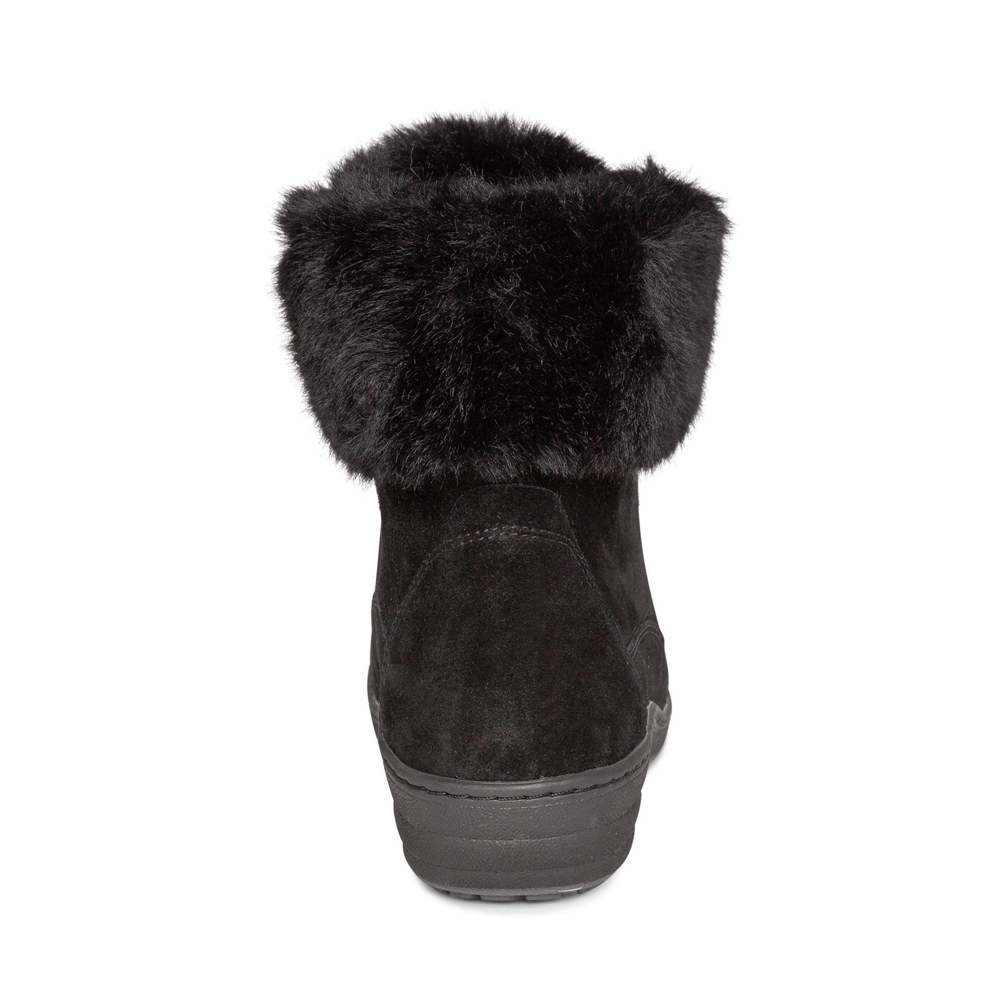 Jodie Fur Winter Boot - Black